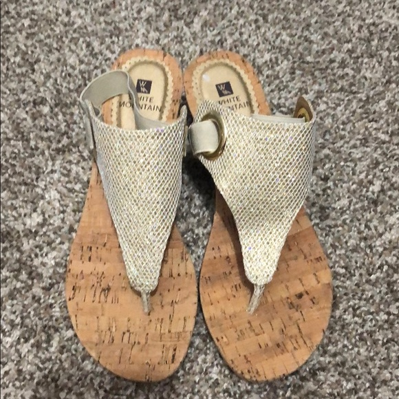 White Mountain Shoes - Cork wedges